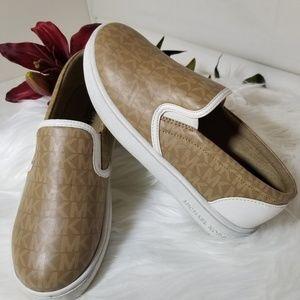 Michael Kors Girls Ivy Alita Slip on Shoes Sz 3